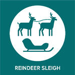 Lapland Comp - Reindeer Sleigh Icon 600x600