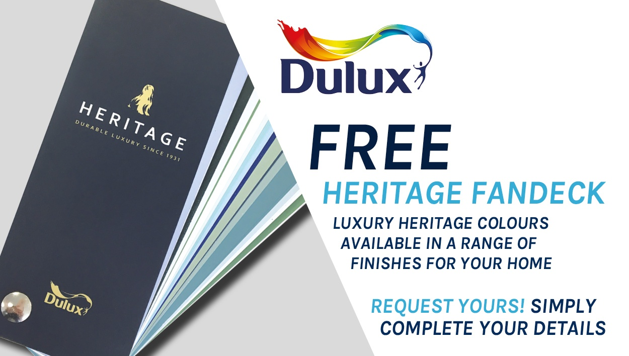 Dulux Heritage Fandeck - request yours for FREE!
