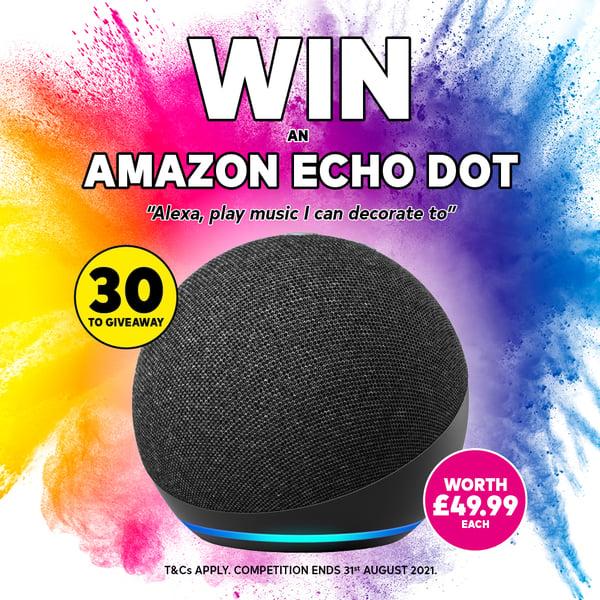 Echo Dot - Landing page 1000x1000