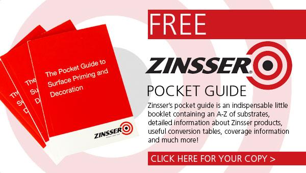 Request your Free Zinsser Pocket Guide