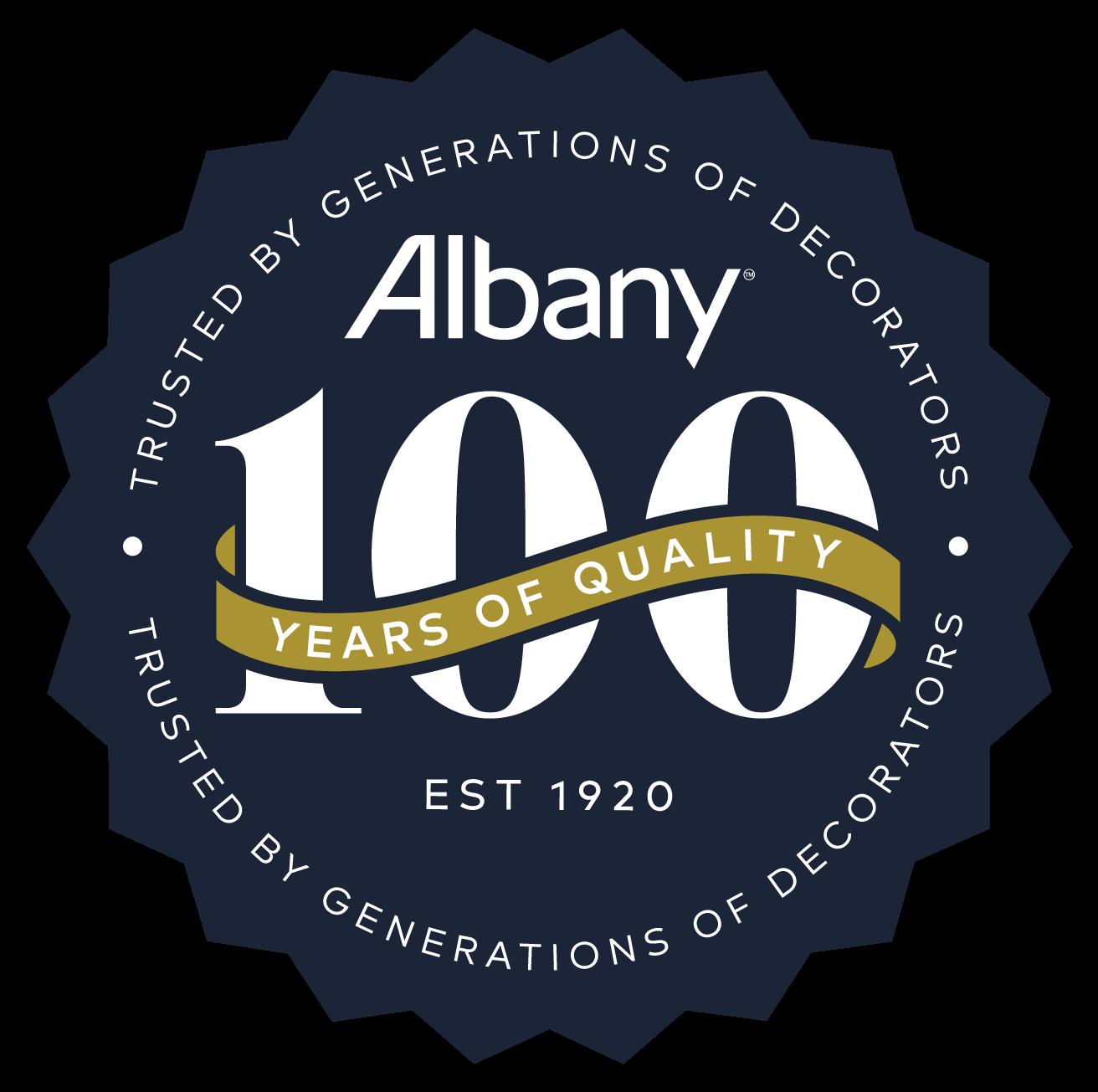 Albany-100-logo